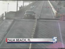Florida man jumps draw bridge