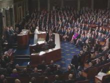 Pope adresses Congress