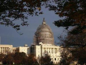 FILE - In this Nov. 22, 2015 file photo, The Capitol dome is seen on Capitol Hill. Its been like a long-delayed New Years resolution for the GOP. But 2016 will finally be the year congressional Republicans put legislation on President Barack Obamas desk repealing Obamacare. (AP Photo/Alex Brandon, File)