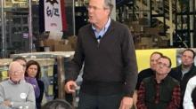 IMAGE: Bush talks military strategy, gun rights, college finances