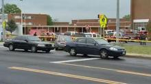 IMAGE: Official: 1 dead, 1 hurt in shooting at suburban DC school