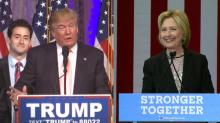 Trump, Clinton trade jabs