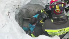 Woman, child rescued from rubble
