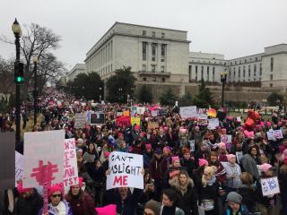 Thousands descend on D.C. for Women's March