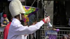 'Fat Tuesday' swings through the Big Easy