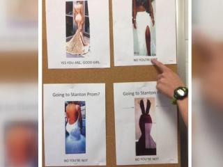 Students protest 'good girl' prom flyer that had dress guidelines