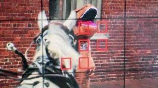T-Rex costume spooks horses, causes crash