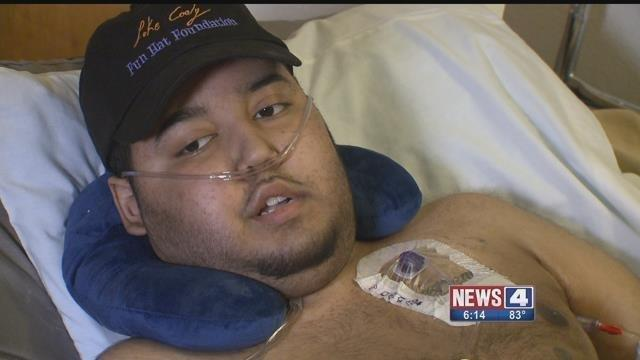 Luke Cody, 19, is fighting a very aggressive form of cancer and says the illness has changed his actions for the better.