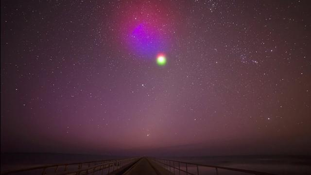 NASA will try again to create colorful clouds in the night sky