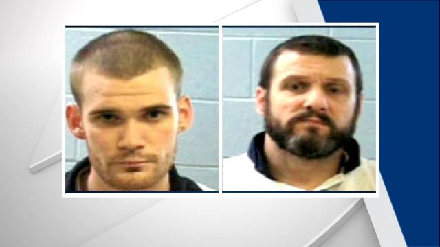 Donnie Russell Rowe, 43 (right) and Ricky Dubose, 24