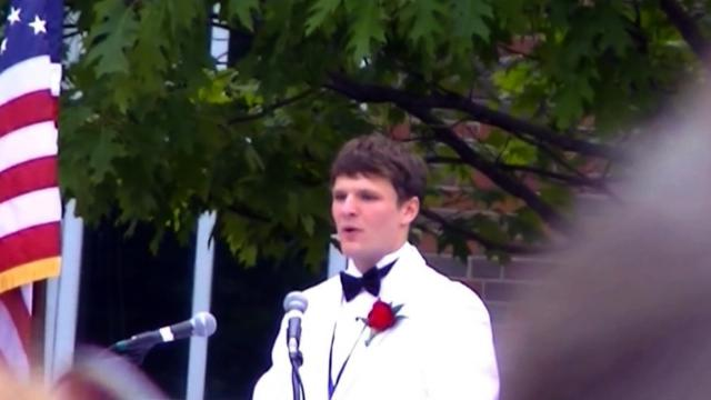Otto Warmbier's graduation speech: A fond memory
