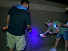 With bug spray, 'scorpion hunters' patrol Arizona neighborhood