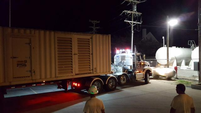 Thousands of tourists on North Carolina's Ocracoke Island had to evacuate due to a major power outage. Tideland Electric Membership Corporation was bringing in and installing three mobile generators to supply essential power for those who live and work year round.