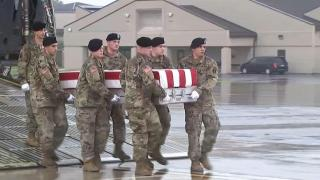 Body of 82nd Airborne troop returned home
