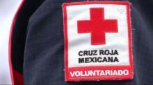 RAW: Mexican Red Cross volunteers arrive to help Harvey relief