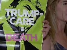 Trump continues UN week as GOP lawmakers push health care