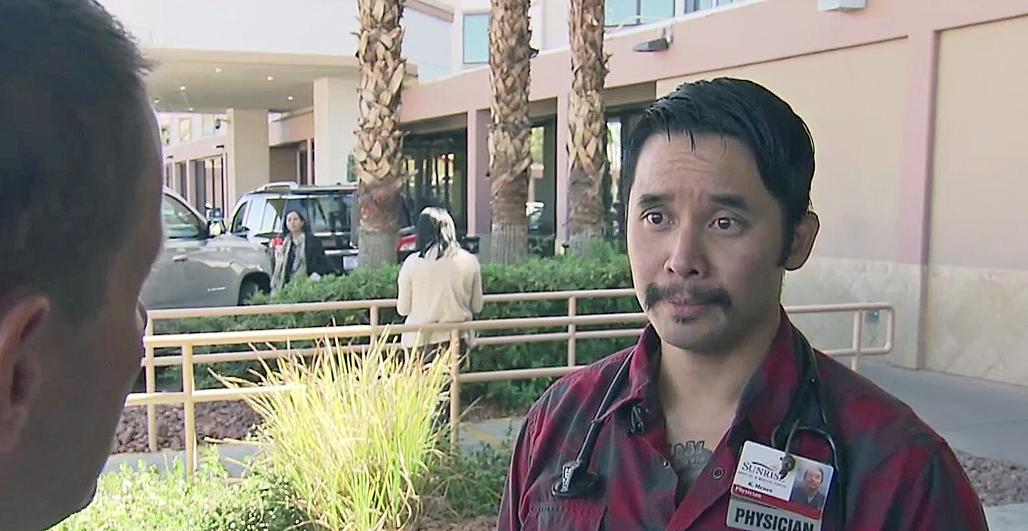 'Find the ones that will die on you first:' NCSU grad recalls chaos in ER after Vegas shooting
