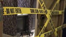 IMAGES: Las Vegas police: Security responded to door alarm, drew fire from killer