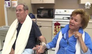 Elderly couple rescued after getting lost in desert