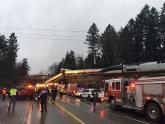 IMAGES: Amtrak Derailment Leaves Multiple People Dead in Washington State