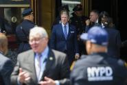 IMAGE: Police Union Is Sending Officers to Iowa to Protest de Blasio