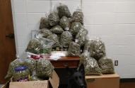 IMAGE: Marijuana for Christmas? Elderly Couple Arrested With 60 Pounds for Gifts