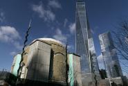 IMAGE: Work Stops on St. Nicholas Shrine at World Trade Center Site