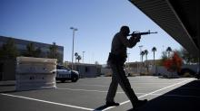 IMAGES: Snipers. Helicopters. Las Vegas Gears Up for New Year's Eve.