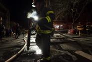 IMAGES: In Deadly Bronx Fire, Responders Battled Fire and Ice