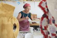 IMAGES: Betty Woodman, Who Spun Pottery Into Multimedia Art, Dies at 87