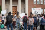 IMAGES: Exonerated, University of Rochester President Steps Down