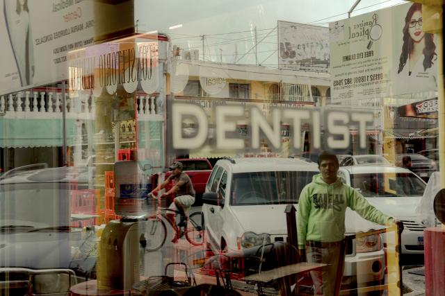 FILE -- A dentist's office in Nuevo Progreso, Mexico, Nov. 10, 2017. Some American seniors who can't afford dental insurance travel abroad to get treatments in places where it's cheaper. (George Etheredge/The New York Times)