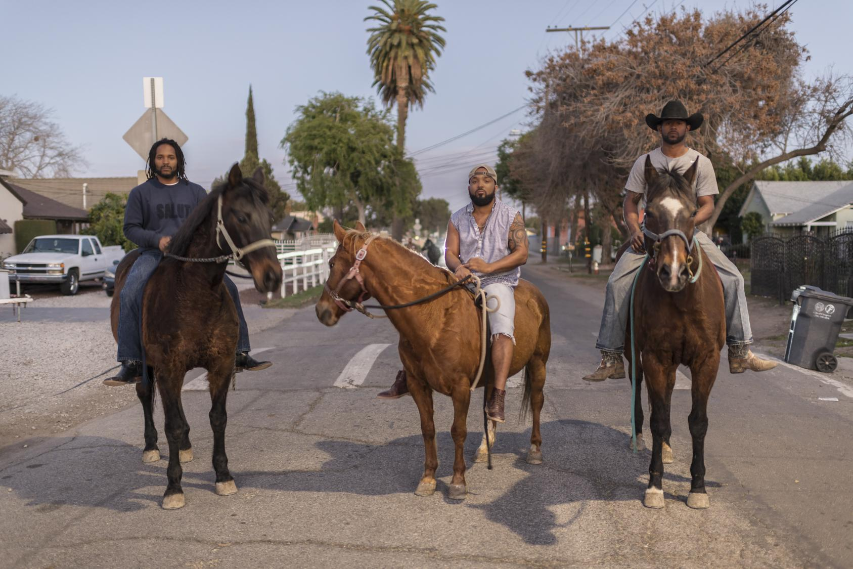 Black Cowboys Get Back On The Trail In Compton Wral Com