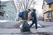 IMAGES: Beyond the City, Rents Rise and Homelessness Follows