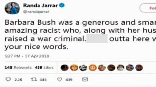 Professor in hot water for calling Barbara Bush an 'amazing racist'