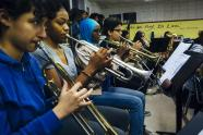 IMAGES: In New York High Schools, the Sound of Music Is Muted
