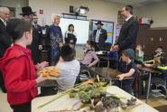 IMAGES: DeVos Visits New York Schools, but Not Ones Run by the City