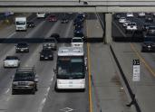 IMAGES: Protesters Block Google Buses in San Francisco, Citing 'Techsploitation'