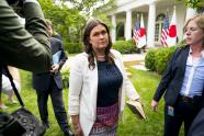 IMAGE: Sarah Sanders Was Asked to Leave Restaurant Over White House Work