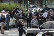 IMAGES: Gunman attacks a newsroom in Maryland, killing five people