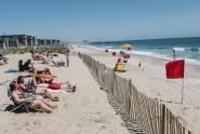 IMAGES: You Can Hitch a Ride to Rockaway Beach, but Will It Be Open? Maybe.