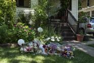 IMAGES: Town Grieves for a Father and His Four Daughters