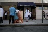 IMAGE: Anti-Abortion Protesters at New York Clinic Did Not Harass Patients, Judge Rules