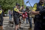 IMAGES: Clash in Portland Points to a Deeper Divide Over the City's Identity