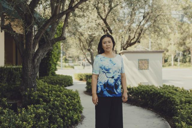 Sarah Yang, a founding member of The Orange Club, a Chinese-American political action committee, in Irvine, Calif., July 25, 2018. The club is currently focused on supporting California Republican candidates in the midterms. (Rozette Rago/The New York Times)