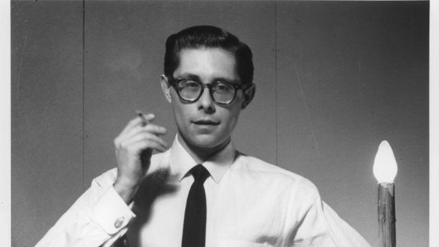 A photo provided by Fakir Musafar of himself in a corset in 1959, when he was still known as Ronald Loomis. Musafar, a performance artist who practiced rituals like piercing and branding, believing they expanded consciousness and led to catharsis, died Aug. 1, 2018, at the age of 87. (Mark Madeo via The New York Times) -- NO SALES; FOR EDITORIAL USE ONLY WITH NYT STORY OBIT MUSAFAR BY DANIEL E. SLOTNIK FOR AUG. 14, 2018. ALL OTHER USE PROHIBITED. --