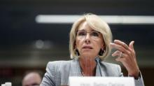 IMAGES: DeVos Is Said to Weigh Letting School Districts Use Federal Funds to Buy Guns