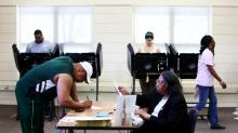 IMAGES: Fact check: Facebook post botches North Carolina's voter registration, turnout numbers