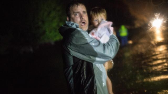 They Were Stranded by Florence. Then the Cajun Navy Arrived.