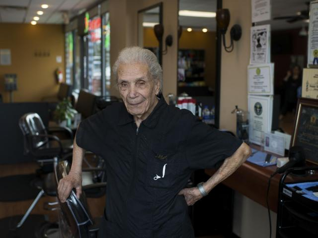 The World's Oldest Barber Is 107 and Still Cutting Hair Full Time :: WRAL.com